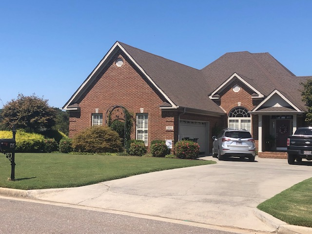 The September Yard of the Month is located at 535 Summit Lake, Athens.